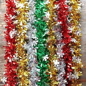 Ourwarm, 2m, New, Year, U0026, 39, S, Decorations, For, The, House, Christmas, Tinsel, Garland, Christmas, Tree