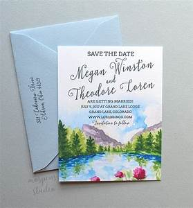 send the scene save the dates mospens studio elegant With when to send wedding invitations after save the dates