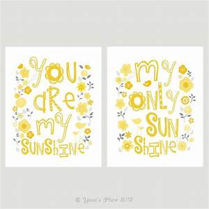 17 best images about yellow gray nursery on pinterest With beautiful migi sweet sunshine wall decals
