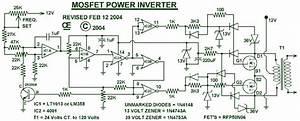 Simple Inverter Circuit Diagrams 1000w