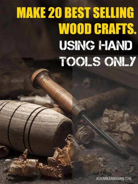 selling wood crafts     hand tools  plans