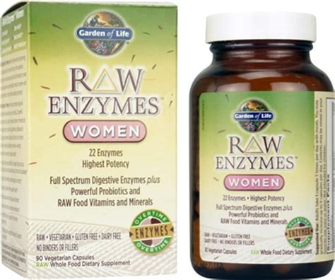 Garden Of Enzymes by Enzymes 90 Vegetarian Capsules Garden Of