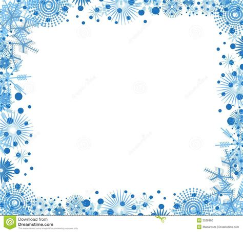 Border Snowflake Background Clipart by Snowflake Border Clip Cliparts