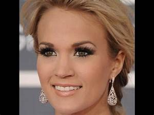 Carrie Underwood Grammy's 2012 Inspired Makeup - YouTube