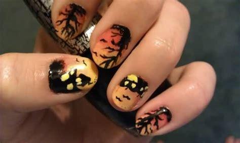 40+ Funky Halloween Nail Artwork