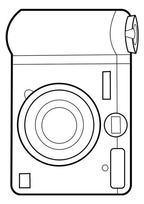 Fototoestel Kleurplaat kleurplaat fototoestel afb 22858