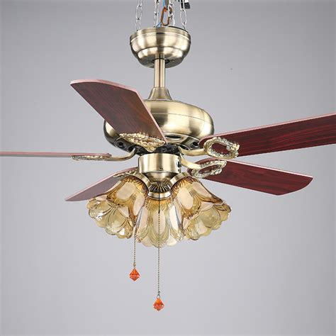 dining room ceiling fans with lights 42inch european style retro ceiling fan l bedroom