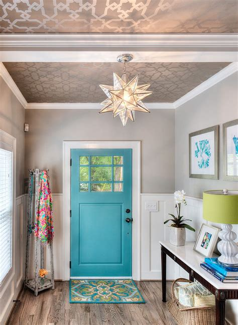 Wallpaper For Entryway by 25 Gorgeous Entryways Clad In Wallpaper