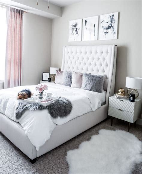 grey bedroom color ideas updating my bedroom with minted influenceher collective 15492 | 02f57a648ee803312085cf3676a6f79b