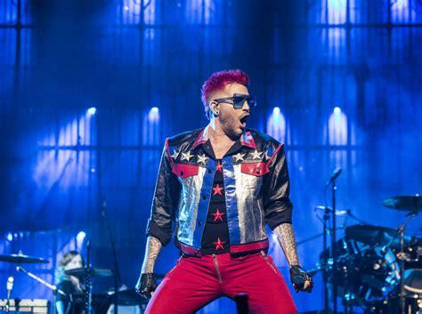 adam lambert review rock greats queen hit their stride with adam lambert las