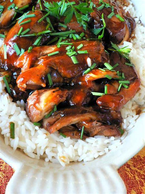 crock pot teriyaki chicken cook