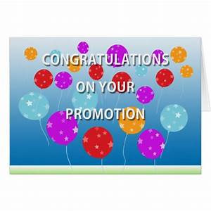 Congratulations On Your Promotion Card | Zazzle.com