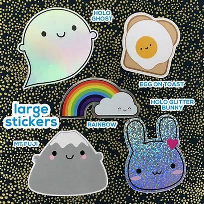 Stickers Vinyl Kawaii Notonthehighstreet