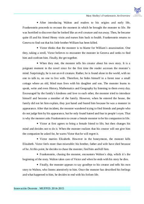 frankenstein letters summary frankenstein 37979