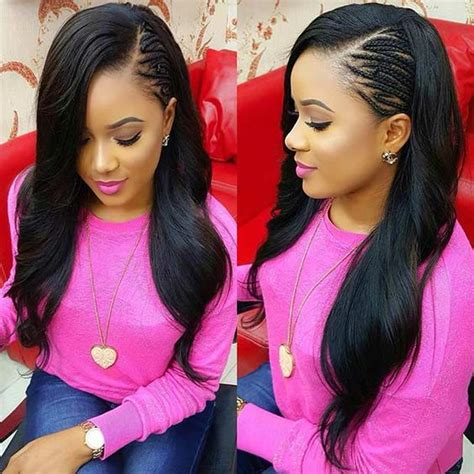 Side Sew In Hairstyles by 25 Side Part Sew In Styles And How To Sew In Tutorial