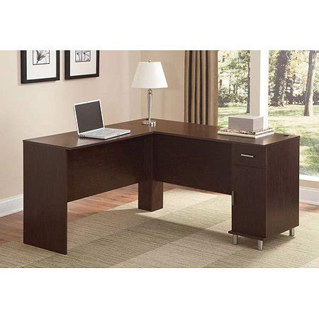 ameriwood l shaped desk ameriwood metro l shaped computer desk walmart
