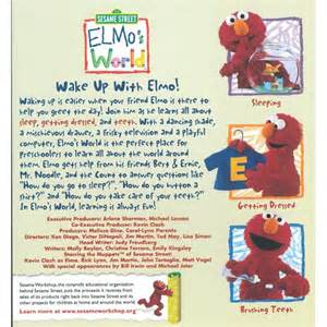 Sesame Street Elmo's World Wake Up with Elmo