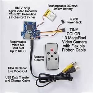 Dvr Pro Series Diy Hide It Yourself Hidden Camera Kit With