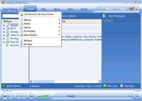 Download Windows Media Player 10.00.00.3923
