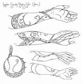 Tattoo Gauntlet Elven Tattoos Tolkien Legolas Infinity Elvish Hobbit Concept Lord Rings Coloring Lotr Falconer Elf Gauntlets Elbisches Sketches Ring sketch template