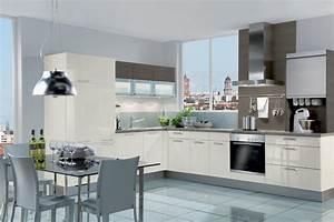 Küche L Form Hochglanz : einbauk chen l form ~ Bigdaddyawards.com Haus und Dekorationen