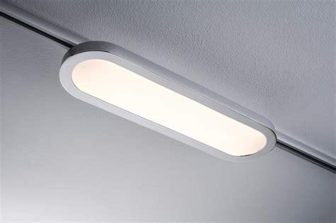 lumiere sur rail plafond eclairage tableau eclairage sur rail plafond led spot panel loop 7w paulmann eclairage sur