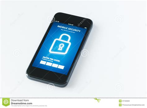 phone security app mobile security app royalty free stock image image 31102626