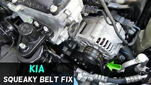 How To Fix Squeaky Serpentine Belt On Kia Forte Optima