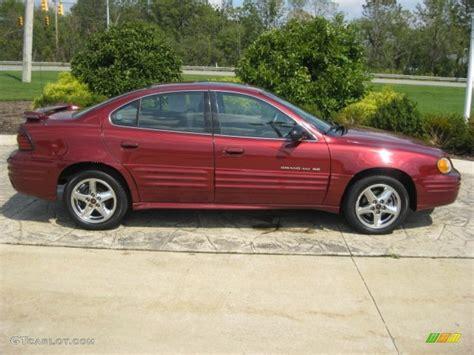 Redfire Metallic 2002 Pontiac Grand Am Se Sedan Exterior