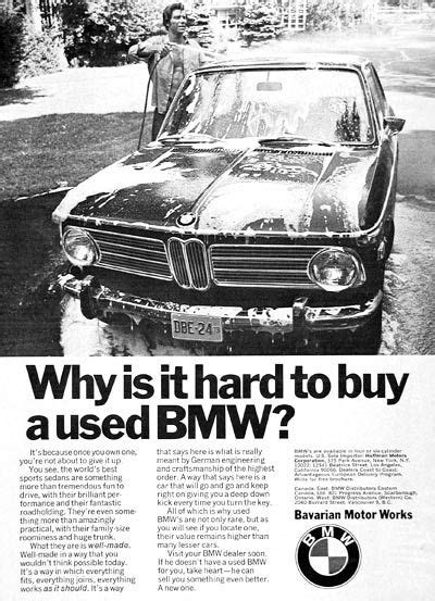 37 best images about BMW Vintage Advertising on Pinterest
