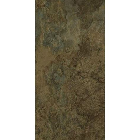 Trafficmaster Carpet Tiles Home Depot by Trafficmaster 12 In X 24 In Harrison Slate Vinyl