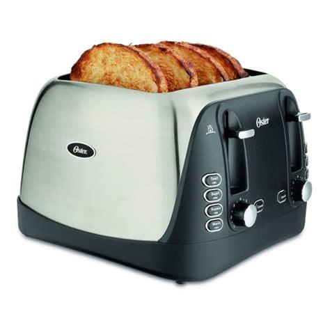 toasters at walmart oster 4 slice toaster stainless steel tssttrjbs4 walmart