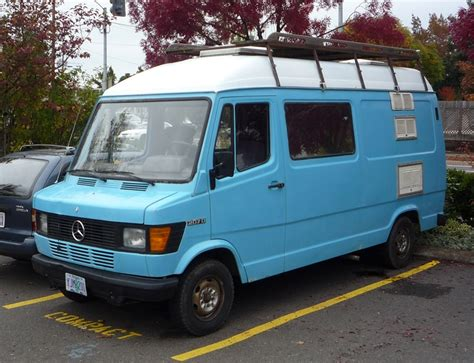 The body styles of the range are: Curbside Classic: Mercedes-Benz 207D (T1) And Other Vintage MBZ Vans