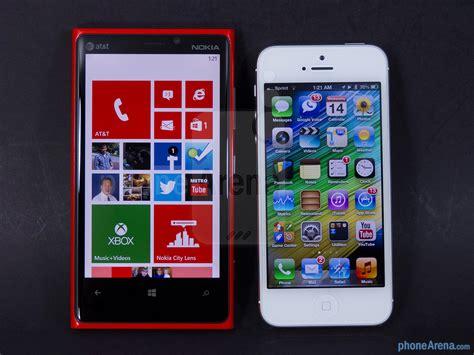 nokia lumia 920 vs apple iphone 5 phonearena