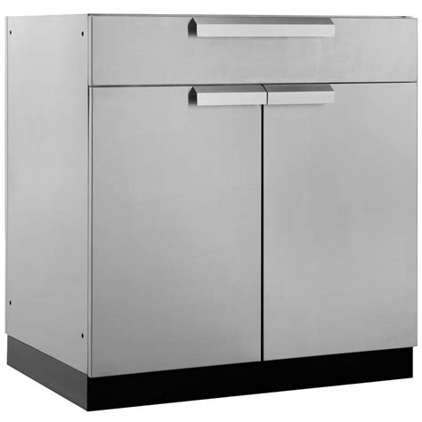 outdoor kitchen cabinets home depot newage products stainless steel classic 32 in bar 32x33 7232