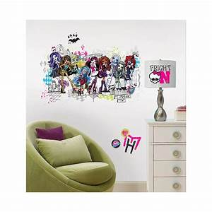 wall stickers beauty large monster high wall decals With monster high wall decals for girl