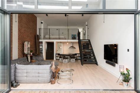Loft Apartments with an Industrial Factory Feel in