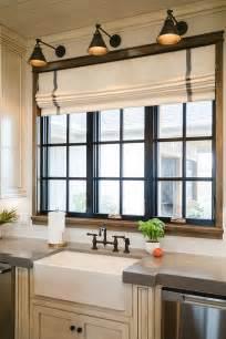 kitchen window shutters interior painted black window trim