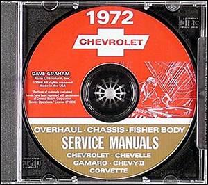 1972 Chevelle Wiring Diagram Manual Reprint Malibu  Ss  El