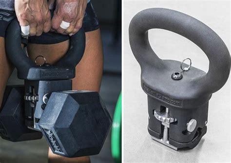 kettlebell dumbbell turns into fitnessgizmos workout kettlebells fitness training