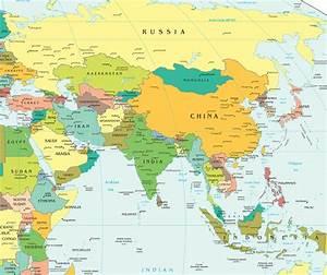 Carte Du Monde Metallique : carte asie carte du monde ~ Teatrodelosmanantiales.com Idées de Décoration