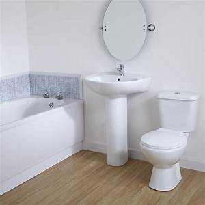 zurich 1700mm straight bathroom suite gbp220 at cheap suites With cheapest bathroom suites uk