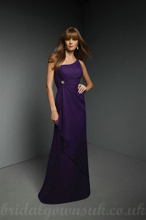 one shoulder bridesmaid dresses one shoulder purple bridesmaid dresses ipunya