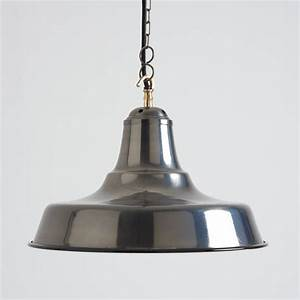 Industrial black nickel pendant light by horsfall wright
