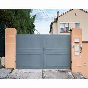 Modele De Portail Coulissant : couleur portail fer es68 jornalagora ~ Premium-room.com Idées de Décoration