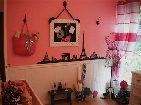 stylish paris themed bedroom d 233 cor