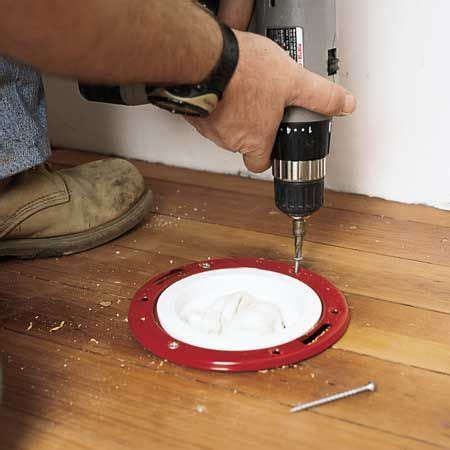 How to Install a Toilet   DIY   Pinterest   Floor drains