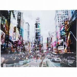 Kare Design Bilder : picture glass times square move 120x160cm kare design ~ Michelbontemps.com Haus und Dekorationen