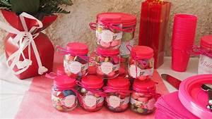 Deco Bonbon Anniversaire : r aliser des petits pots de bonbons pour un anniversaire ou une f te avec des pots de compote ~ Melissatoandfro.com Idées de Décoration