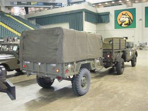 jeep cing trailer 1967 m715 and 1968 m101 a1 trailer jeep kaiser m715 m725